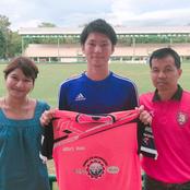 北陸大学サッカー部 OBの小林大介くんがタイのプロリーグ2部と契約!