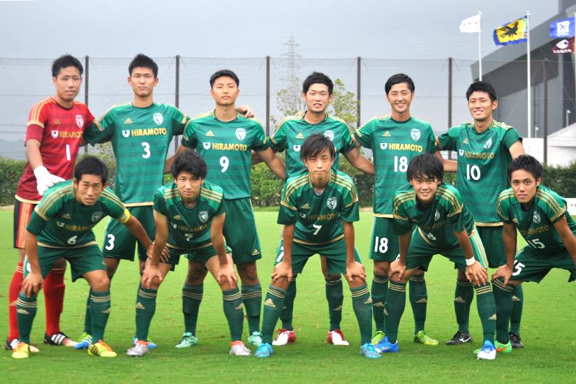 サッカー天皇杯石川県代表戦で本...