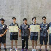 卓球部「全日本学生卓球選手権大会」へ7名出場決定