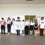 カンボジアの子供たちのために募金活動