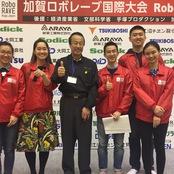 加賀ロボレーブ国際大会の運営に協力