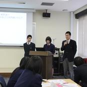 金沢高校との高大連携プログラム開催