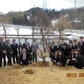平成28年度卒業記念植樹式