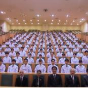 薬学部5年生 実務実習を前に「白衣授与式」
