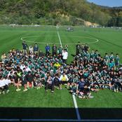 本学男子サッカー部が清掃活動を実施