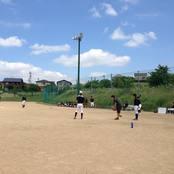 アイスホッケー部VS硬式野球部 ソフトボールで交流戦
