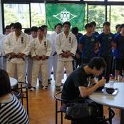 柔道部・卓球部 全国大会壮行会を開催