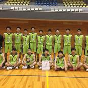 男子バスケ部 石川県会長杯初優勝