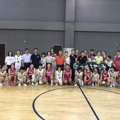 バスケットボール部が首都体育学院(中国)と友好試合