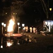 胡ゼミ学生 ぼんぼり祭りでボランティア