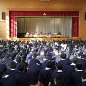 金沢高校で国際交流講演会を実施