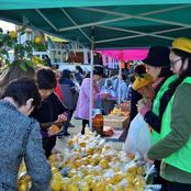 「金沢ゆず香るん祭り」で学生活躍