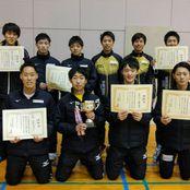 卓球部が北信越学生新人選手権大会で7年ぶりの団体V