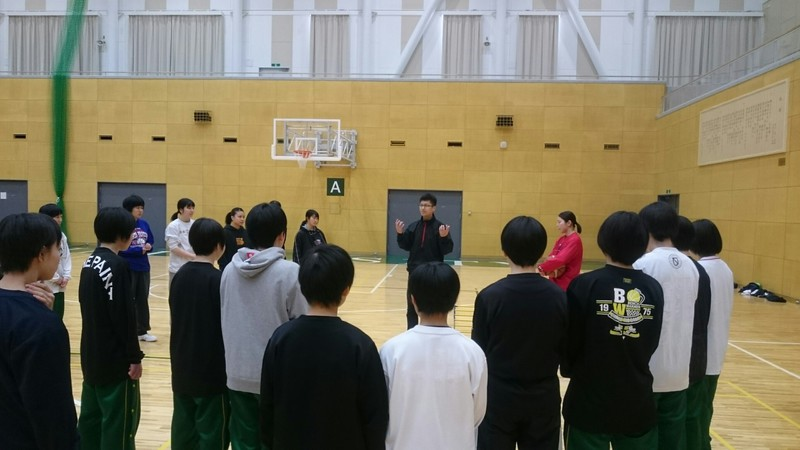 バスケ部簑川監督 加賀市立錦城...