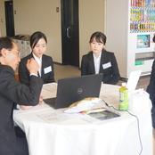 学内合同企業説明会を開催