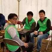 宝達志水町「桜まつり」に柔道部員が協力