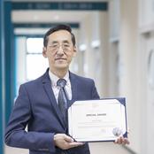 医療保健学部 油野教授 国際シンポジウムで特別賞