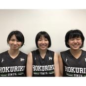 バスケ部選手3名と監督が北信越選抜チームに選出