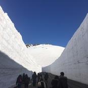 日本文化体験活動 立山・雪の大谷を訪問