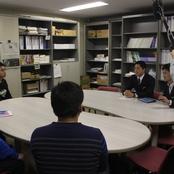 石川県警リクルーター来学 OB面談を実施