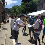 経済経営学部学生 湯涌温泉でボランティア活動