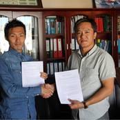 サッカー部OB 東山さん モンゴルで監督就任
