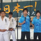 柔道部・卓球部 全国へ向けて壮行会開催