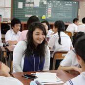 紫錦台中学校「姉妹都市 学習&交流会」に本学留学生が参加