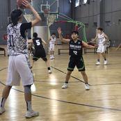 バスケットボール部が北京大学と友好試合