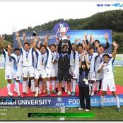 男子サッカー部西川監督が国際大会で最優秀監督賞を受賞