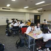金沢伏見高校1年生が本学を訪問