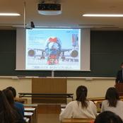 全日本空輸株式会社による仕事研究講座を開催