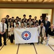 学生赤十字奉仕団が国際交流