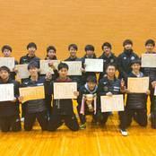 卓球部が北信越学生新人選手権大会で全種目制覇