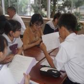 紫錦台中学校「国際理解」の授業に本学留学生が参加