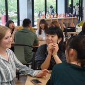 アメリカ人大学生との国際交流イベントを開催