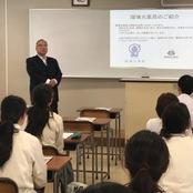 富山第一高校で薬学セミナーを開催