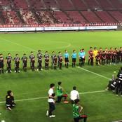 サッカー天皇杯2回戦で鹿島アントラーズ(J1)から得点奪うも1-3で惜敗