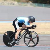 自転車競技部若松選手 国体、全日本インカレに出場決定!