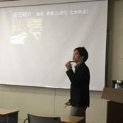JICA企画部 主任調査役 の篠田孝信先生が本学授業に登壇