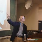 中央大学横山彰名誉教授が特別講義