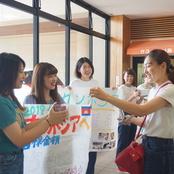 カンボジア研修に向けた募金活動を実施