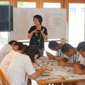 敦賀気比高校1年生が本学で中国文化合宿を実施