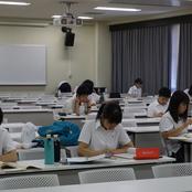 金沢高校3年生が本学で勉強合宿を実施