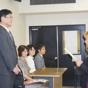 留学生別科夏季修了式を挙行