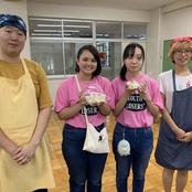 金沢辰巳丘高校「辰巳祭」に留学生水ギョーザ店出展