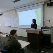 経済経営学部金澤ゼミ 大学院進学説明会を開催