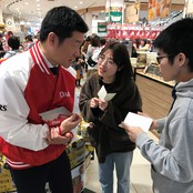 森永製菓㈱北陸支店との課題解決授業中間発表会と実地調査