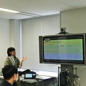 国際理解教育勉強会にて本学学生が海外経験をプレゼン