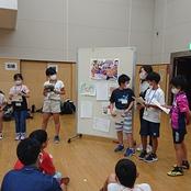 小学生イングリッシュキャンプにボランティア協力